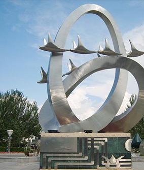 不锈钢城市雕塑