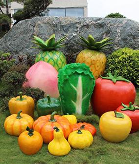 玻璃钢水果雕塑