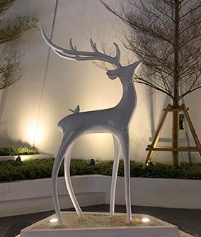 园林不锈钢雕塑