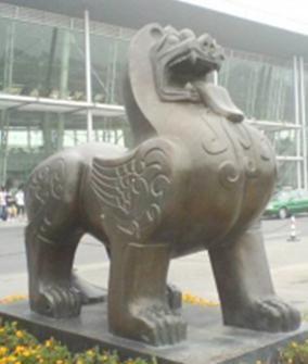 锻铜建筑雕塑