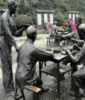 铸铜景观雕塑