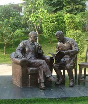 福州名人雕塑