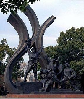 福州锻铜雕塑