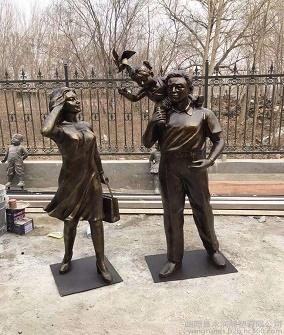 福建锻铜雕塑