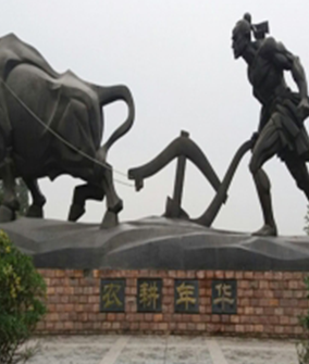 铸铜景点雕塑